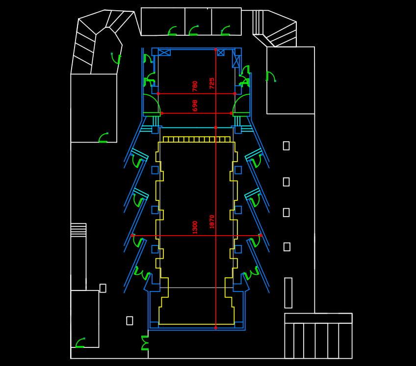 Ficha técnica del teatro - Plano2