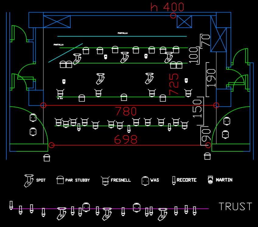 Ficha técnica del teatro - Plano3