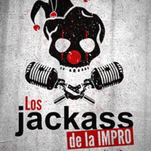 LOS JACKASS DE LA IMPRO - los jackas de la impro cartel arlequin